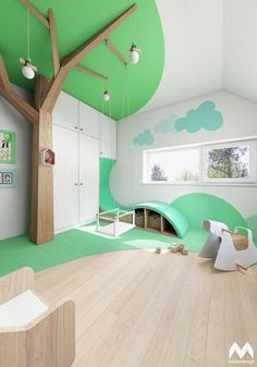 Fotoblogy - Všichni Kindergarten Interior, Kindergarten Design, Daycare Design, Kids Indoor Playground, Kids Cafe, Home Daycare, Clinic Design, Home Room Design, Kids Corner
