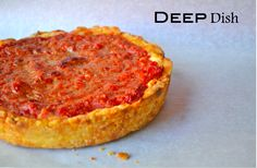 Gluten Free Deep Dish Chicago Style Pizza - for a weekend experiment.