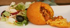 Sicilian Arancini - typical street food
