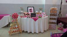 Paris Theme Dessert Table www.facebook.com / mesadedulcesenmonterrey