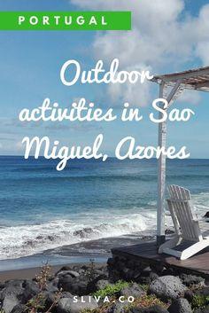 Outdoor-Aktivitäten in Sao Miguel, Azoren - places to go - Life Pinit Europe Travel Tips, European Travel, Places To Travel, Places To Go, Traveling Tips, Travelling, Azores Portugal, Portugal Travel, Portugal Destinations
