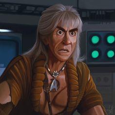 Khan - Star Trek 2 by jdelgado.deviantart.com on @DeviantArt