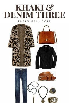 Khaki   Denim-Early Fall Fashion-Rough Luxe Lifestyle Early Fall Fashion 764d1853ece82