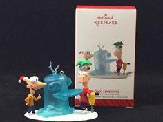 Phineas & Ferb Hallmark Holiday Ornament