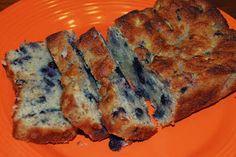 Blueberry Zucchini bread (S)