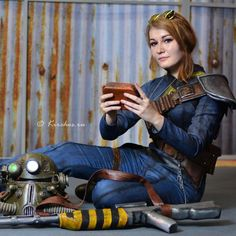 Fallout cosplay - Vault Dweller by MonoAbel on DeviantArt Fallout Cosplay, Fallout Guy, Fallout Facts, Fallout New Vegas, Epic Cosplay, Cosplay Girls, Bioshock Cosplay, Awesome Cosplay, Anime Cosplay