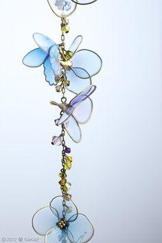 ・・ 簪作家 榮 -sakae- 2012年 紫陽花 簪「水の器」・・