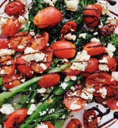 I am so excited to finally be able to be sitting down and writing recipes again! I have had a really busy weeks with Evelyn starting school, me preparing to start work again in a few weeks as w… Cherry Tomato Salad, Cherry Tomatoes, Starting School, Balsamic Glaze, Caprese Salad, Feta, Salads, Writing, Recipes