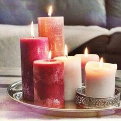Sented candels.