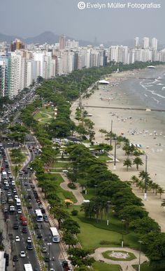 Santos - SP O mais maravilhoso jardim de praia do mundo inteiro ! Tenho muito orgulho de dizer que sou SANTISTA!