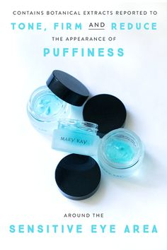 Early morning? Tired, puffy eyes? Indulge® Soothing Eye Gel calms, cools and refreshes a tired-looking appearance with botanical extracts reported to tone, firm and reduce the appearance of puffiness around the sensitive eye area. | Mary Kay Contact me: Call/Text: 440.503.0744 Email: lflocken@marykay.com Facebook: www.facebook.com/lauren.flocken.7 Website: www.marykay.com/lflocken