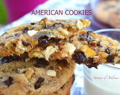 Cookies aux noix et aux pépites de chocolat Saveur, Cereal, Muffin, Cookies, Breakfast, Food, Kitchens, Crack Crackers, Morning Coffee