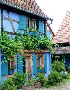 Les Jardins de la Ferme bleue ..♔..