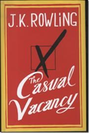 The Casual Vacancy af J. K. Rowling, ISBN 9781408704202