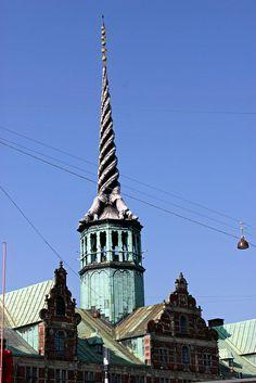 København - Borsen by Malcolm Bott,