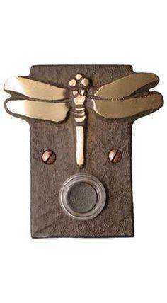 Dragonfly Doorbell Mission Door Bells and Door Knockers Accessories  sc 1 st  Pinterest & Mission Door Bells and Door Knockers Accessories   Wish List ... pezcame.com
