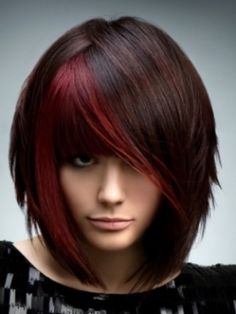 Tremendous Women Hairstyles Short Bob Hairstyles With Red Highlights And Short Hairstyles For Black Women Fulllsitofus