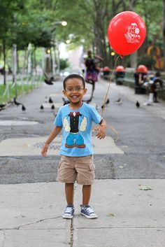 cute shirt, but this kid is breaking my heart!