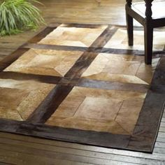 Mosacio Cowhide Rug from Western Passion | Stylish Western Home Decorating