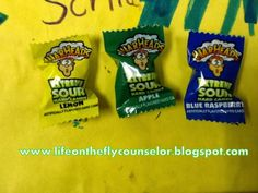 Life on the Fly.... A School Counselor Blog: Candy: Works Every Time!