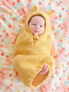 Too cute for words!!! Buga Baby Bunting Pattern via Craftsy
