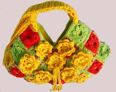 Bolsa de Crochê Carlota Pereira -  Mod 3