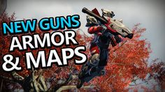 Destiny The Taken King: New Guns, Armor Sets & Maps!!
