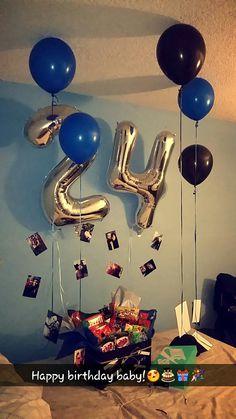 Birthday Surprise For His Presents Boyfriend