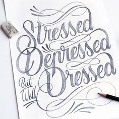 Stressed, Depressed but well Dressed by Tim Bontan