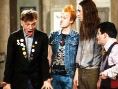 "The Young Ones British comedy tv series). Not my favourite - just a bit too ""silly"" to be funny. Comedy News, Comedy Tv, Great Comedies, Classic Comedies, Steve Bull, Rik Mayall, British Comedy, British Humor, English Comedy"