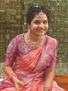 Pattu Saree Blouse Designs, Fancy Blouse Designs, Bridal Blouse Designs, Hand Work Blouse Design, Designer Blouse Patterns, Saree Jewellery, Diamond Jewellery, Banarsi Saree, Lehenga