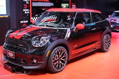 The MINI John Cooper Works Paceman makes its first appearance in the flesh at the NAIAS.