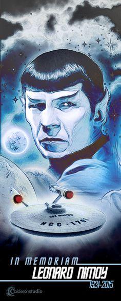 Fallece Leonard Nimoy el inolvidable Sr. Spock de Star Trek. Un icono de la cultura popular D.E.P. Este es nuestro pequeño homenaje.