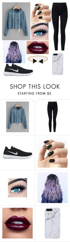 """""""Untitled #73"""" by lucia-xd-1 on Polyvore featuring J Brand, NIKE, Incoco and MINX"""