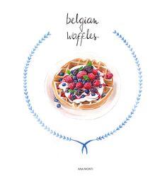 Belgian Waffles - Ana Monti