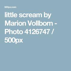 little scream by Marion Vollborn - Photo 4126747 / 500px