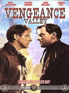 Vengeance Valley-DVD-Burt Lancaster, Robert Walker-Western-Adventure-Action Burt Lancaster stars as a ranch foreman who is continually battling his wayward brother, played by Robert Walker, in this melodramatic tale of the western range. Fantasy Draft, Old Western Movies, Robert Walker, Western Theme, Hd 1080p, Lancaster, Westerns, Old Things, Adventure