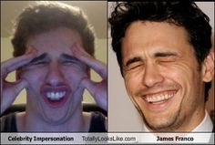Celebrity Impersonation Totally Looks Like James Franco