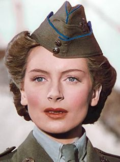 Hooray For Hollywood, Golden Age Of Hollywood, Vintage Hollywood, 40s Fashion, Fashion Hair, The Sweetest Thing Movie, June Allyson, Deborah Kerr, Home Guard