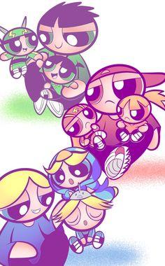 Power Puff Girls Z, Power Girl, Disney Wallpaper, Girl Wallpaper, Cartoon Network Powerpuff Girls, Powerpuff Girls Wallpaper, Super Nana, Alchemy Symbols, Clothing Sketches