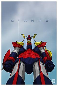 Giants - Raideen by DanielMead on deviantART