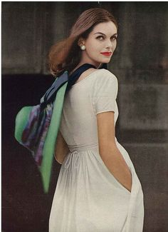 June Vogue 1956. Photo by Irving Penn