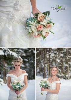 Winter Wedding by Wren Photography....my sister the beautiful model