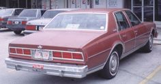 We bought a `78 chevy caprice for our first FAMILY car