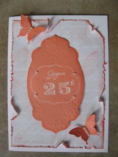 carte pour 25e anniversaire de mariage wwwscrapbookingnadiastpierrecom - Cartes Virtuelles Anniversaire De Mariage
