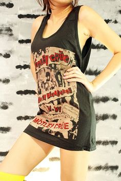 Motley Crue T Shirt Heavy Metal Hard Rock by SoYouThinkYouCanRock, $15.99