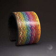 polymer clay bracelets Bettina Welker