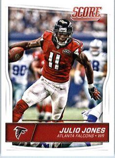 2016 Score #16 Julio Jones Atlanta Falcons Football Card