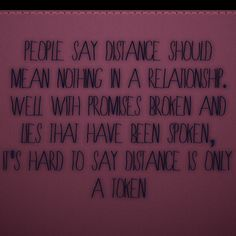 Sad Long Distance Relationship Quotes Love