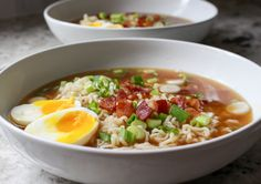 Homemade Ramen with Bacon & Soft-Boiled Eggs | Yes to Yolks
